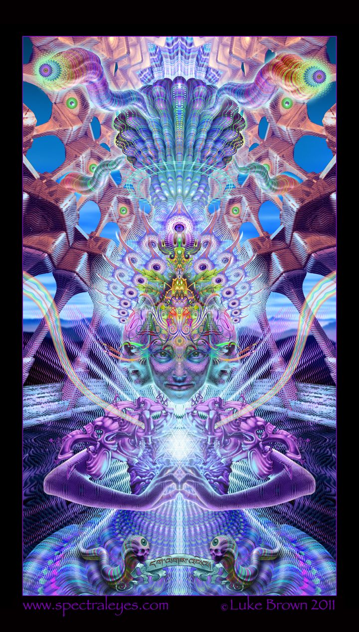 34 best psychedelic art images on pinterest figurative art luke brown spectraleyes is one of todays most praised visionary artists he draws inspiration from deep meditative states sacred fandeluxe Gallery
