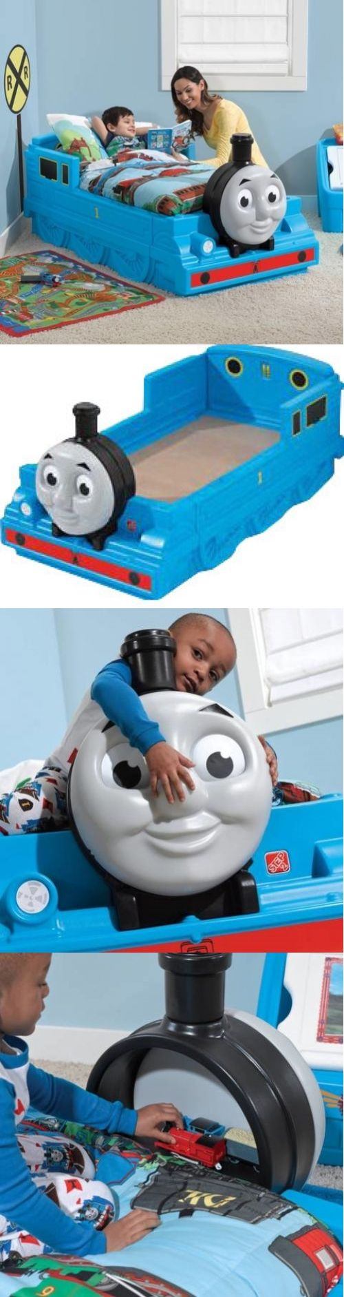 Home Decor: Thomas The Tank Engine Toddler Bed Favorite Tank Engine Made In The Usa -> BUY IT NOW ONLY: $313.53 on eBay!