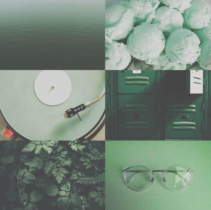 #green pastel aesthetic