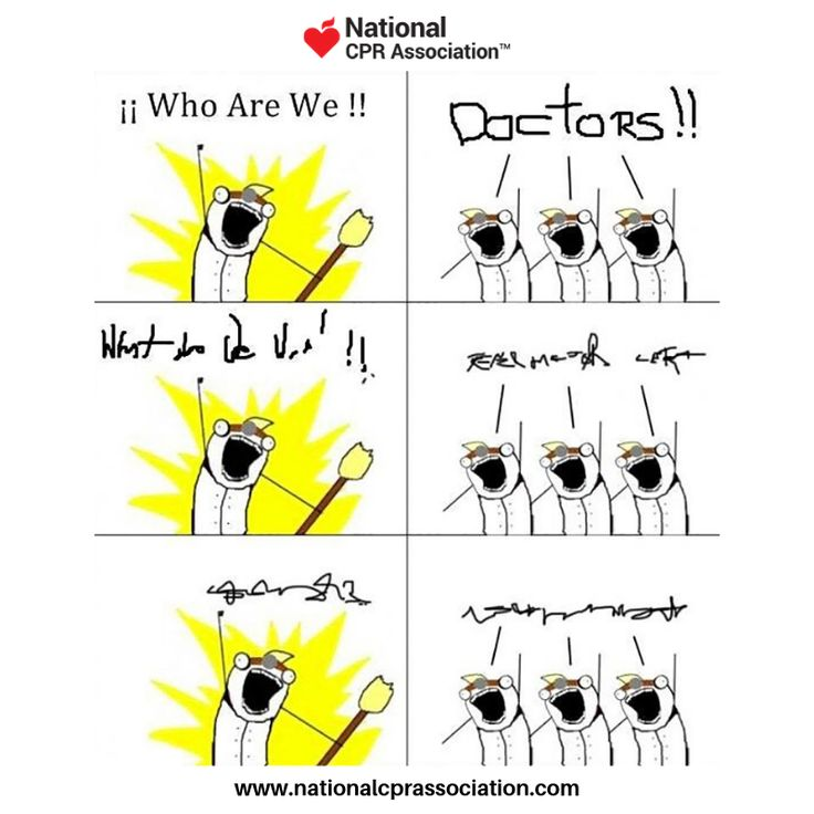 Who are we? Doctors! 😂👍 Like,tag and share! cpr aed