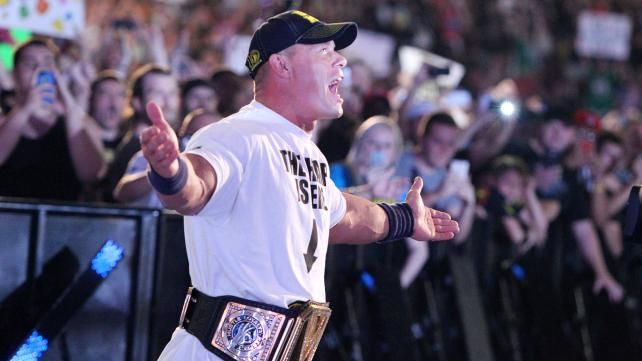 WWE.com: John Cena vs. Mark Henry - #WWE Championship Match: photos