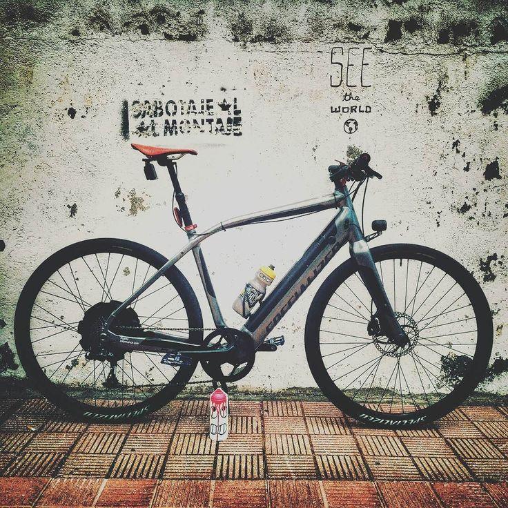 Instagram picutre by @alejandroamador_tf: Paredes que no había visto antes... #sabotajealmontaje #oaky #oakoak #oakoakstreetart #iamspecialized #bicistar #ebike #electricbike #welovebikes #turbo #gopro #spray #deadspray #montana #montana94 #mtn #mtn94 #visitpuertodelacruz #graffiti #wallporn #bikeporn #puertodelacruzenbici #sacatubici #canaryislands #canarias #tenerife #specializedturbo #commute #instatravel #commutescount - Shop E-Bikes at ElectricBikeCity.com (Use coupon PINTEREST for 10%…