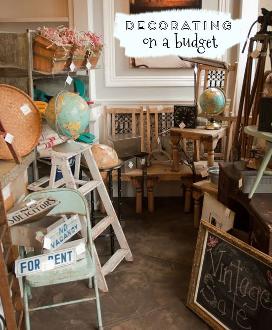 Decorating on a budget At Home in Love At Home in Love
