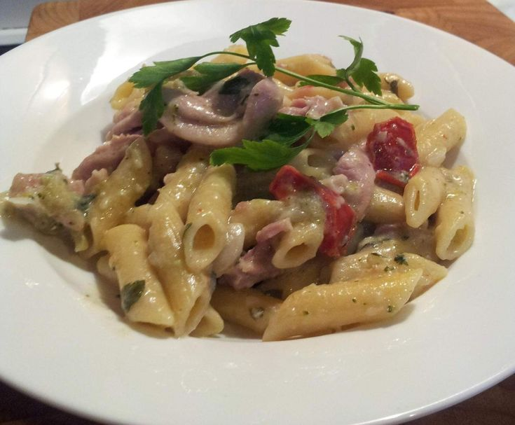 Recipe Chicken Coconut Pasta by kimallison - Recipe of category Main dishes - meat
