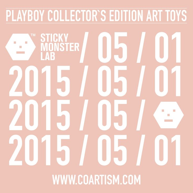 Playboy X 스티키몬스터랩  COMING SOON 2015 / 05 / 01   #PLAYBOYARTTOYS #PLAYBOY #STICKYMONSTERLAB #ARTTOY #BLITZWAY #COARTISM