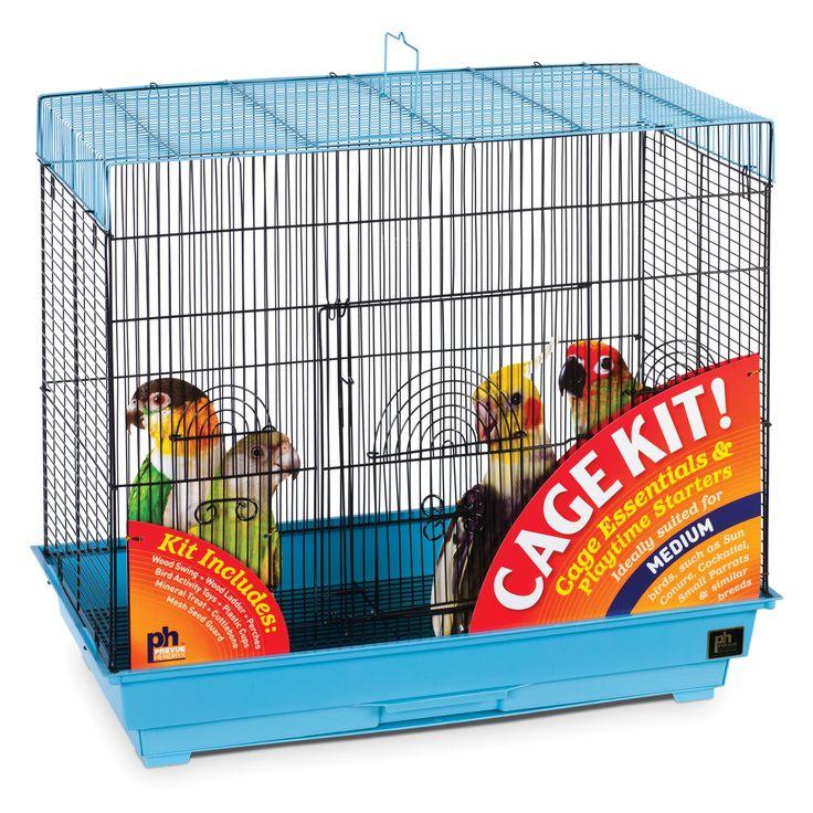 Prevue Pet Products Flight Cage Cockatiel Kit 91340 Pet