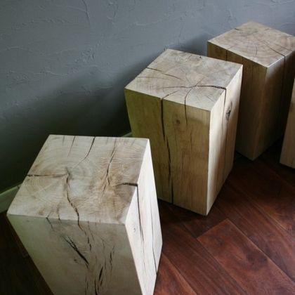 Cube bois brut                                                                                                                                                                                 Plus