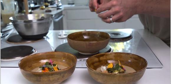 Eggplant soup - http://www.chow.com/food-news/87634/daniel-patterson-s ...