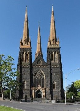 The other major cathedral in Melbourne city is St Patrick's Cathedral. It is the tallest church in Australia, followed by St Paul's Cathedral. The construction of the bluestone church began in the late 1800s but was not completed until more than 30 years later in 1939.