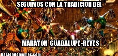 Maratón Guadalupe - Reyes. http://en.wikipedia.org/wiki/Guadalupe-Reyes_Marathon