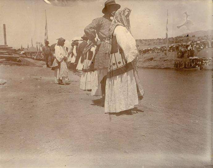 Εγκαίνια Διώρυγας Ισθμού  Κορίνθου 25/7/1898. www.nationalgallery.gr