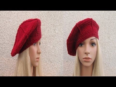 How to Crochet a Beret Hat Pattern #3 │by ThePatterfamily