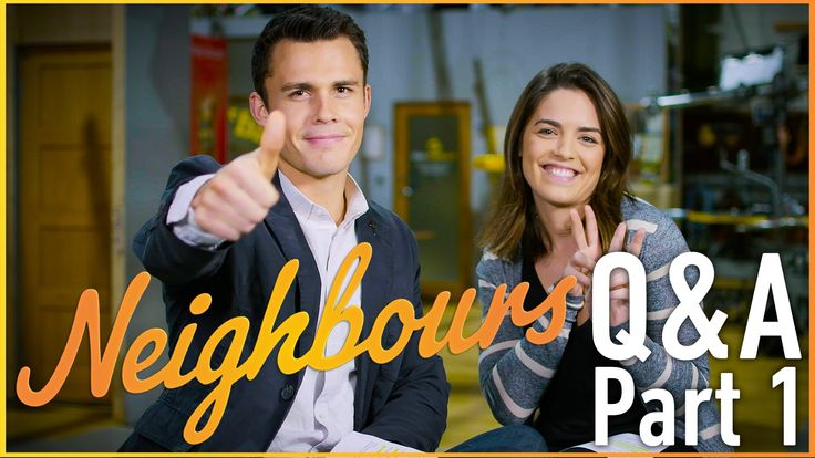 Olympia Valance (Paige Smith) and Andrew Morley (Jack Callahan) - Neighb...