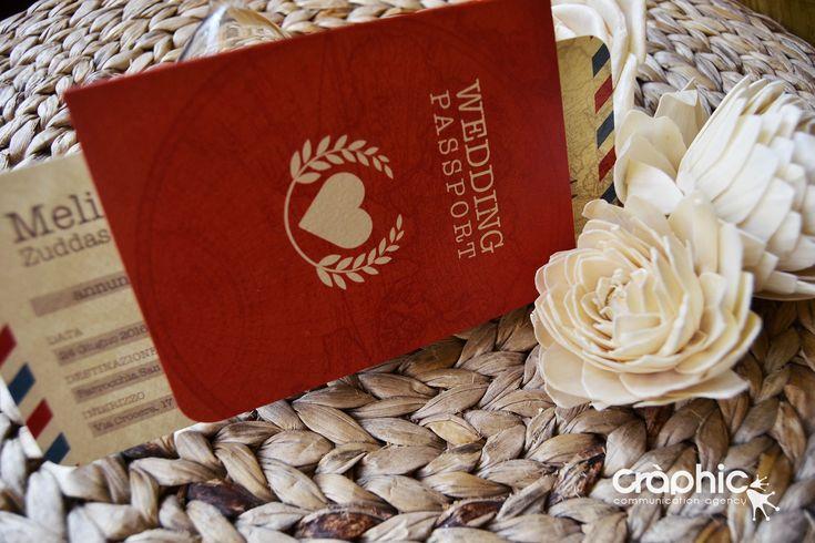 Partecipazione a Tema Boarding Pass! Carta di Imbarco più passaporto