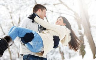 winter romance in Northern Ontario at Northridge Inn and Resort. Enjoy a romantic evening in front of your own fireplace....then off to enjoy the races!