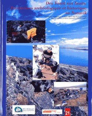 [Des Tuniit aux Inuits, Patrimoines archéologique et historique au Nunavik]  Ce livre présente le bilan des recherches menées pendant les trois années du projet ARUC 'Des Tuniit aux Inuits'. Il est subdivisé en trois parties. La première portant sur les projets de terrain de nature archéologique dans les trois régions à l'étude (i.e., Salluit, Kangiqsujuaq et Quaqtaq). La deuxième concerne les projets en laboratoire et nouvelles approches, notamment sur l'étude des sources de matières...
