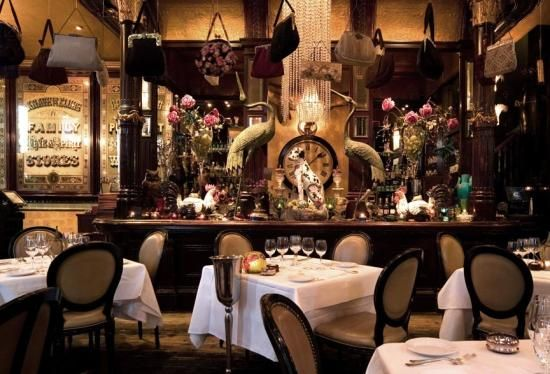 Les Trois Garcons. Housed in a converted Victorian pub, dating from 1880, in Shoreditch in the east end of London, it's like stepping into a weird and wonderful fairytale.
