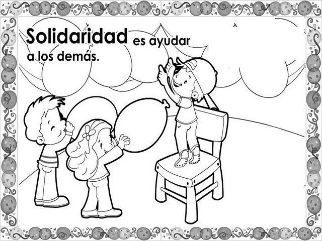 Actividades Escolares Formacon Etica Buenos Modales Dibujos De