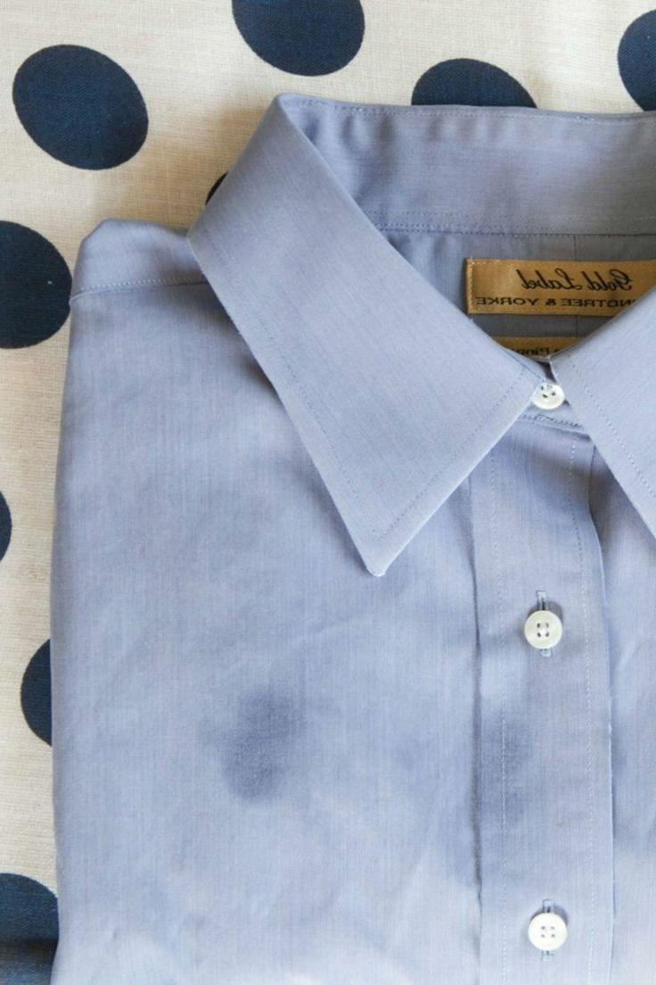 alte Fettflecken entfernen Kleidung und Textilien