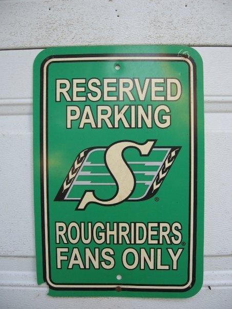 Roughrider sign