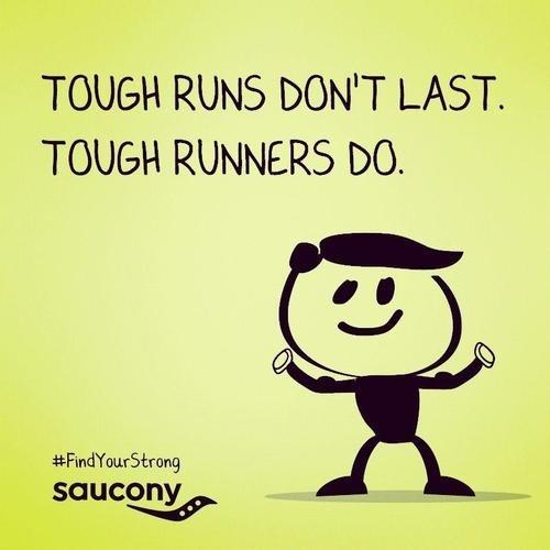 Tough runners