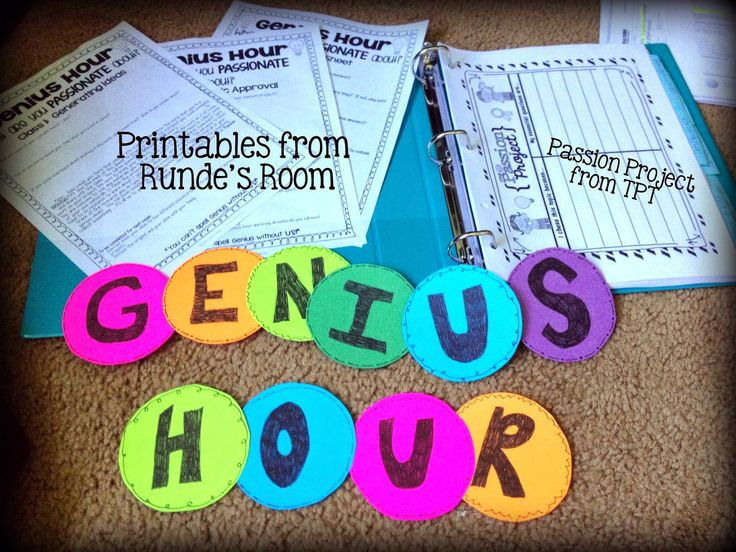 Genius Hour, Check it out for more resources and how to from a teacher just…