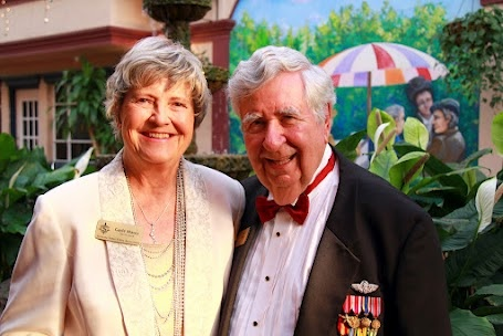 Tom Halbert and Gayle Maxey