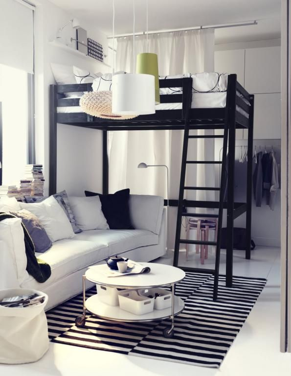 Plaatsing meubels (bed,bank,...)
