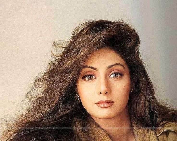 SriDevi. I have been told I resemble her ...she has much more bigger beautiful eyes then I do!