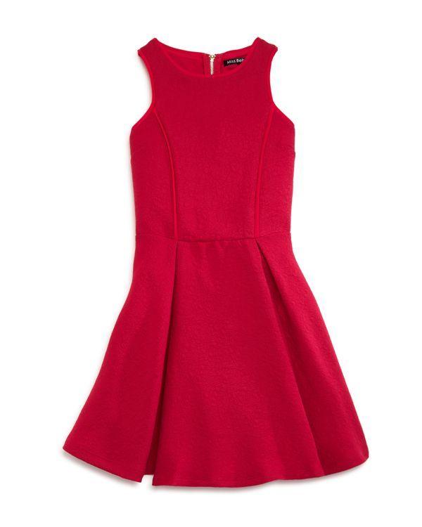 Miss Behave Girls' Carmyn Cutout Jacquard Dress - Sizes 8-16