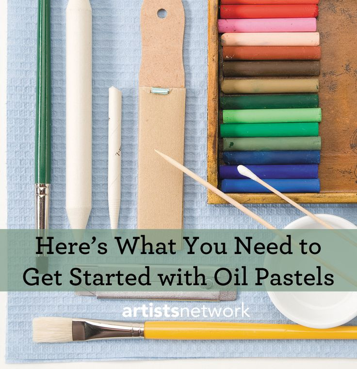 This FREE download is filled with step by step instruction on how to paint with oil pastels!
