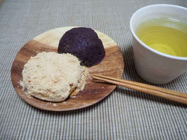 Ureshino Tea &  Japanese bean cake