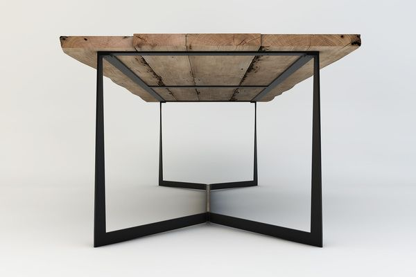 Special Design Skeletal Quadro Table Contemporary