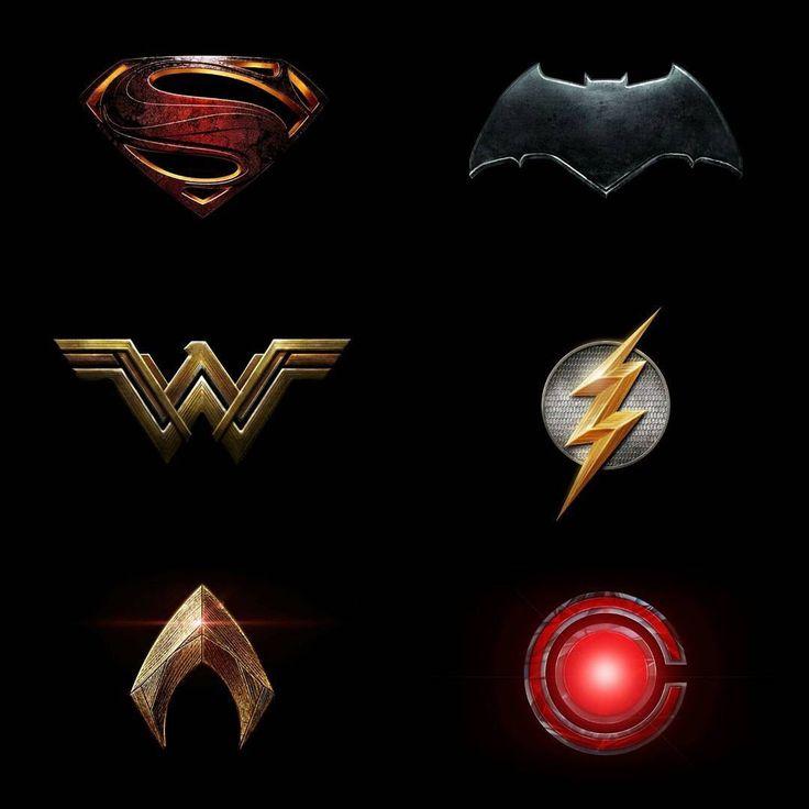 Justice League Emblems 3582 best images about...