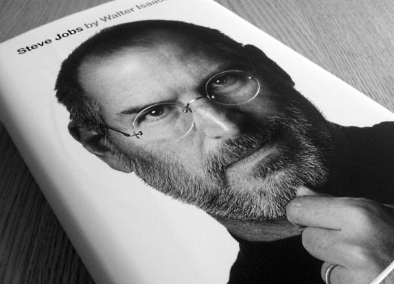 Steve Jobs autobiography. Let's get inspiration from the genius