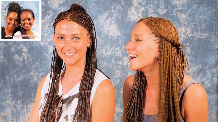 Hanna & Franzi: Individual Braids im Doppelpack! Toll gestylte Rastazöpfe