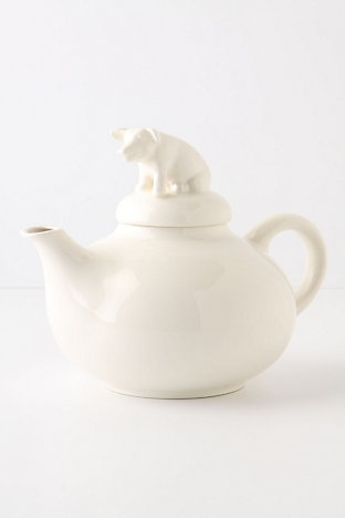 I heart things with pigs on them: Animal Handles, Teas Pots, Heart Things, Life Teapots, Ceramics, Country Life, Teapots Anthropologie, Teapots Anthropology, Pigs Teas