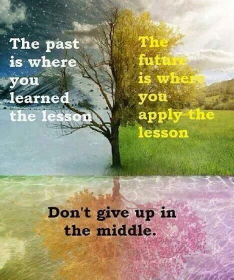 DON'T STAY IN THE MIDDLE...