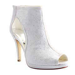 Sandaletler / Botlar - Düğün / Elbise / Parti ve Gece - Burnu Açık / Platform…