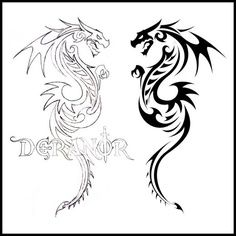 Not sure what it is about dragons tattoos . . . Buuuut, I adore them.