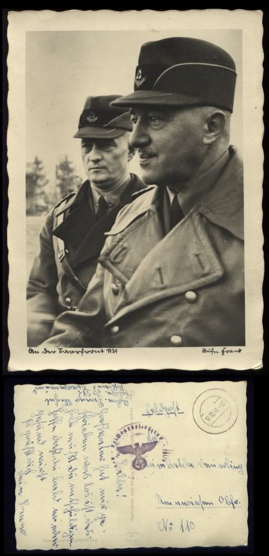 Propaganda WWII -> Karten -> Karten - Persönlichkeiten - Philatelie Shop - - Ansichtskarten Briefmarken Briefe Motive