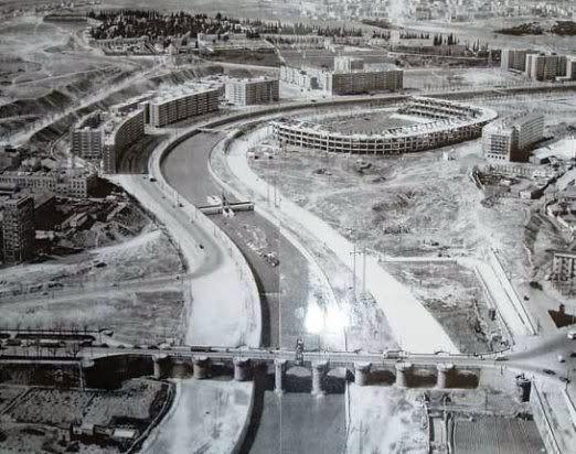 FLa M30 con el Calderón en obras, Años 60:
