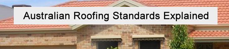Australian Roofing Standards Explained