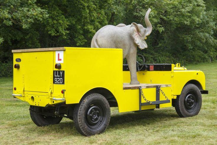 1950 Series 1 Bertam Mills Circus vehicle