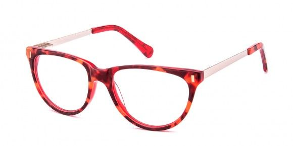 Aurora Red / Tortoise Glasses- Ozeal Glasses
