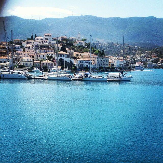 Port of Poros Island, #Greece  Photo credits: @casimir31