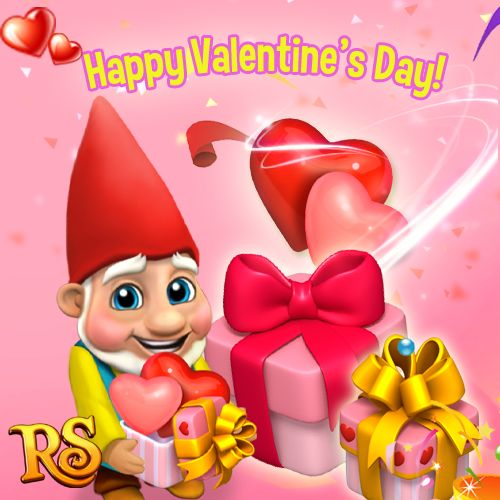 Hope your Valentine's Day was very special this year! Lots of love, Max <3 #royalstorygame #royalvalentines