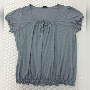Shirt Grau Größe 52 Bauch Verstecken Durch Gummizug | eBay