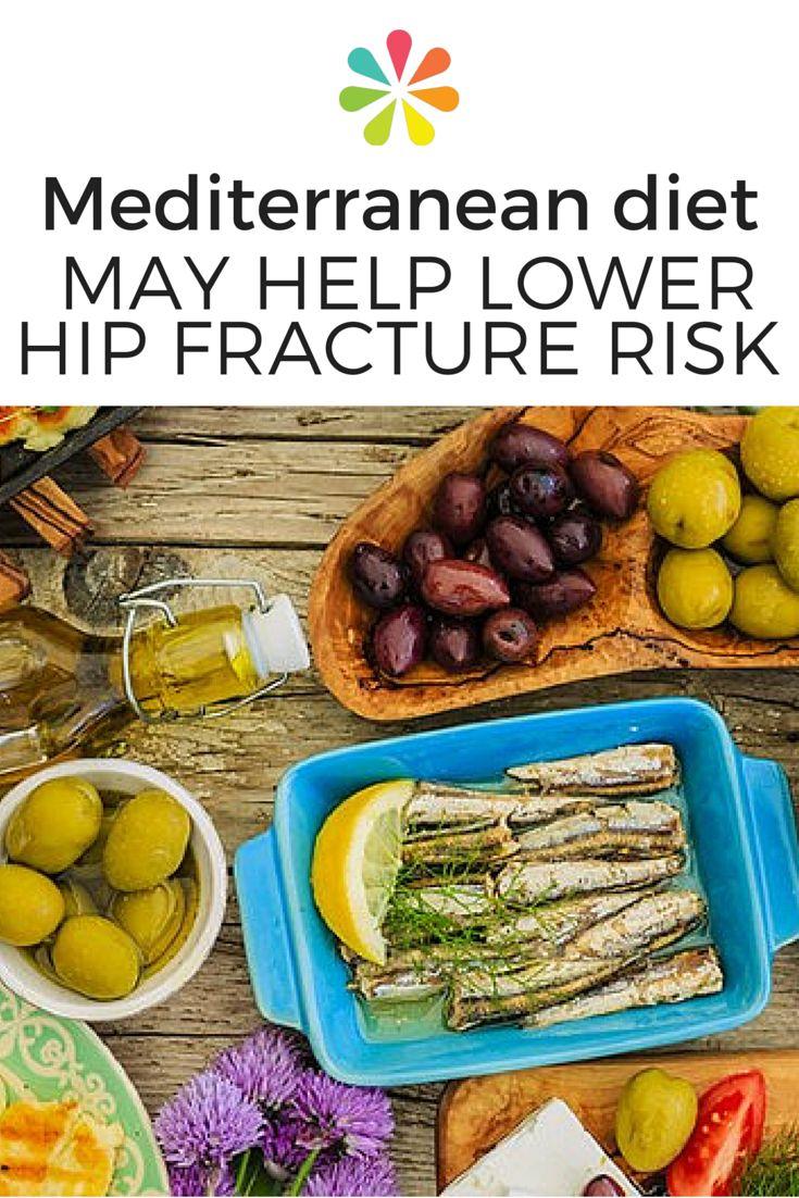 Mediterranean diet tied to lower hip fracture risk