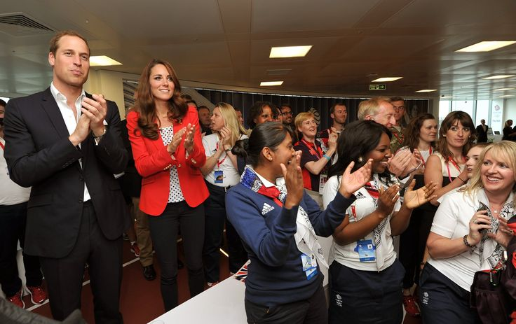 For a day at the 2012 Olympics, Kate favored a red $103 jacket from her favorite high street label Zara, al...